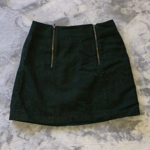 Skirt with Zippers